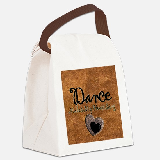 Dance Makes My Heart Sing Canvas Lunch Bag