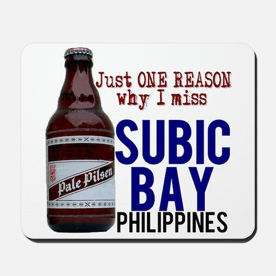 Subic Bay (Beer) Mousepad