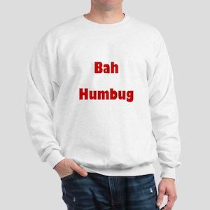 Bah Humbug (red) Sweatshirt