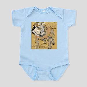 ENGLISH BULLDOG 2 QUOTE Infant Bodysuit