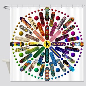 Sk8 Shower Curtain