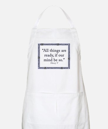 All Things Are Ready Light Apron