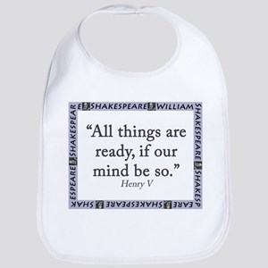 All Things Are Ready Baby Bib