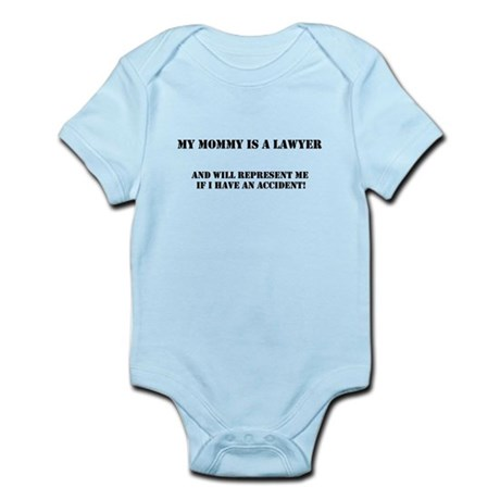 Mommy is a lawyer Infant Bodysuit