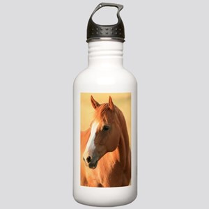 horse portrait Stainless Water Bottle 1.0L