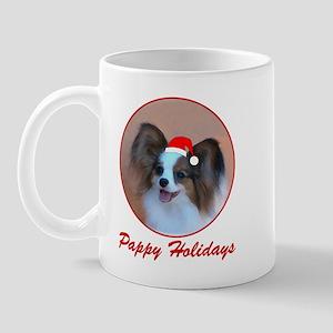 Pappy Holidays (sable santa hat) Mug