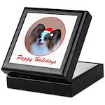 Pappy Holidays (sable santa hat) Keepsake Box