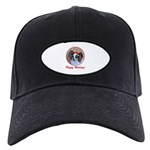 Pappy Holidays (sable santa hat) Black Cap