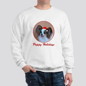 Pappy Holidays (sable santa hat) Sweatshirt