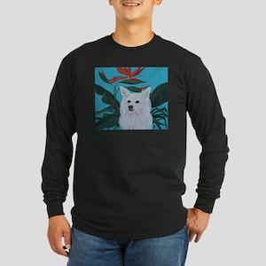 """American Eskimo"" Long Sleeve Dark T-Shirt"