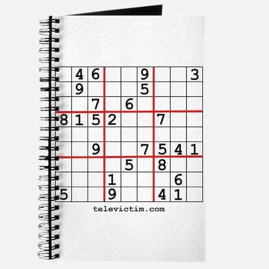 """Sudoku shirts"" Journal"