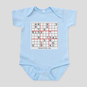 """Sudoku shirts"" Infant Creeper"