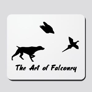 GSP and Falconry Mousepad