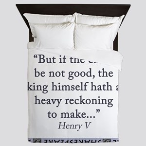But If The Cause Be Not Good Queen Duvet