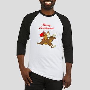 Merry Christmoose Baseball Jersey