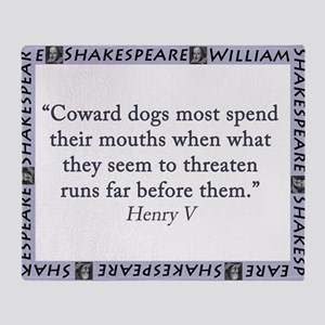 Coward Dogs Most Spend Their Mouths Throw Blanket
