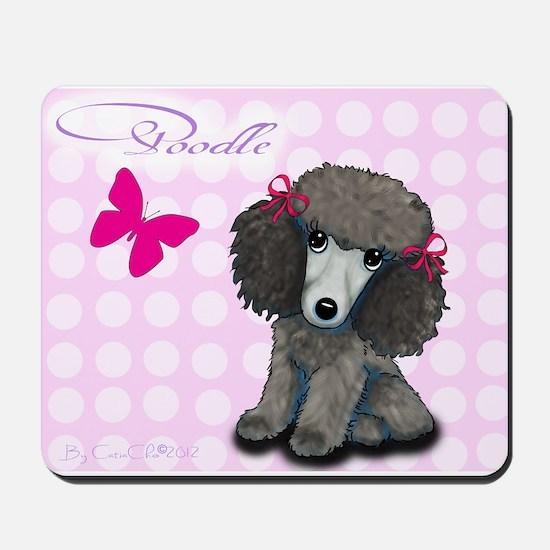 Poodle Girl Mousepad