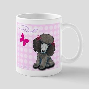 Poodle Girl Mug