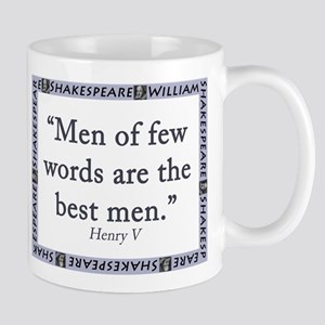 Men Of Few Words Mugs
