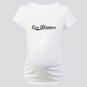 Los Alamos, Vintage Maternity T-Shirt