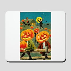 Jack-o-lanterns Mousepad