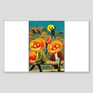 Jack-o-lanterns Rectangle Sticker