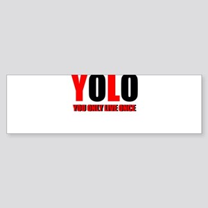 Yolo Sticker (Bumper)