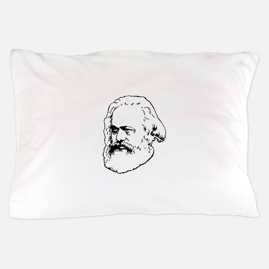 Cute Karl marx Pillow Case
