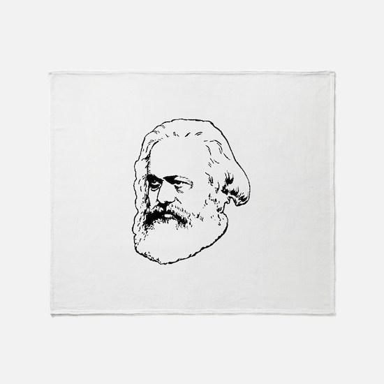 Funny Socialism Throw Blanket