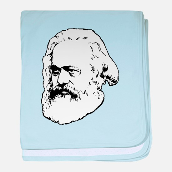 Cute Marx baby blanket