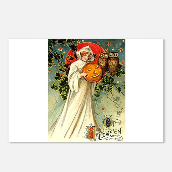 Victorian Hallowen Postcards (Package of 8)