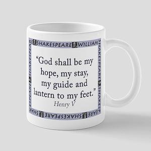 God Shall Be My Hope Mugs
