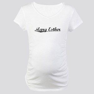 Mary Esther, Vintage Maternity T-Shirt