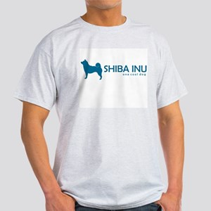 """Shiba Inu """"One Cool Dog"""" Ash Grey T-Shirt"""