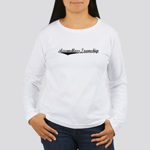 Mccandless Township, Vintage Women's Long Sleeve T