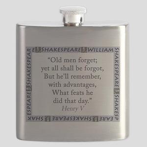 Old Men Forget Flask