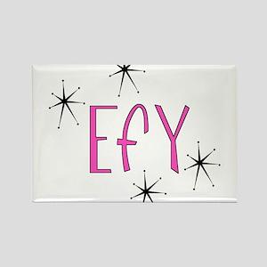 """EFY """"60s Mod"""" Rectangle Magnet"""