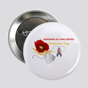 """Veterans Day 2.25"""" Button (10 pack)"""