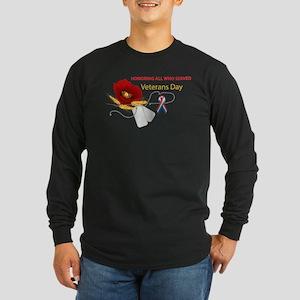 Veterans Day Long Sleeve Dark T-Shirt