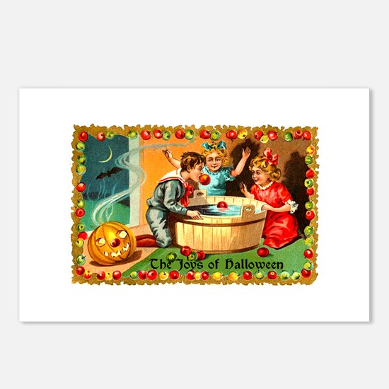 The Joys of Halloween Postcards (Package of 8)