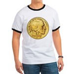 Wy-Gold Indian/Buffalo Ringer T
