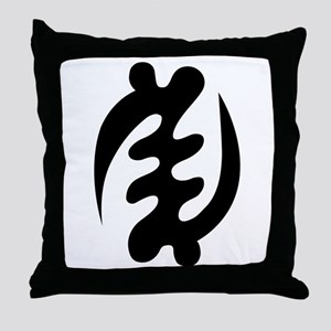 GYE NYAME Throw Pillow