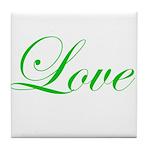 Love Tile Coaster