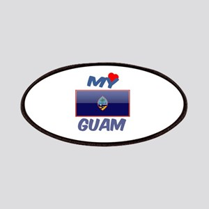 My Love Guam Patch