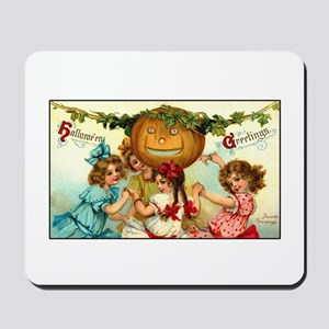 Victorian Halloween Party Mousepad