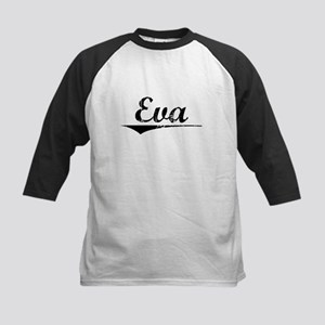 Eva, Vintage Kids Baseball Jersey