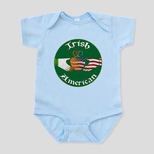 Irish American Claddagh Infant Bodysuit