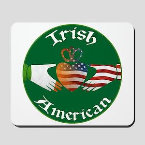 Irish American Claddagh Mousepad
