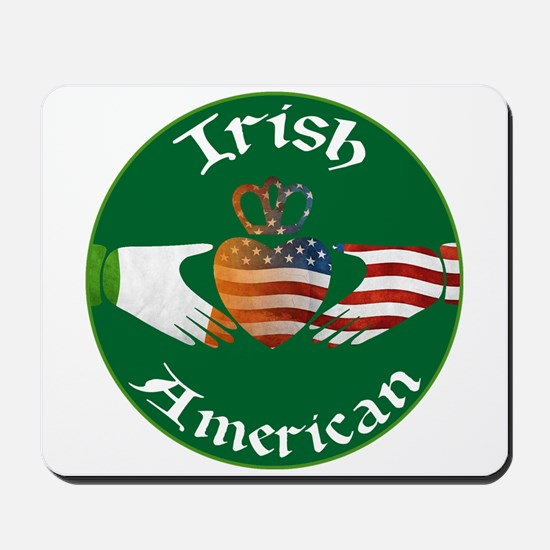 Irish American Claddagh Mousepad