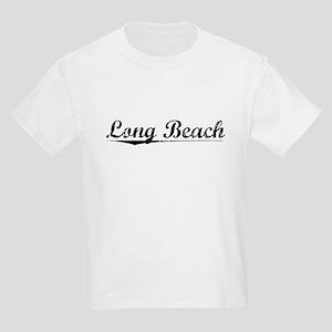 Long Beach, Vintage Kids Light T-Shirt